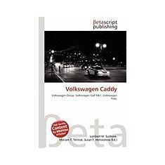 Volkswagen Caddy - Carte Literatura Engleza