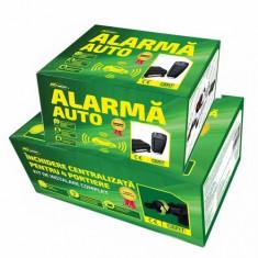Alarma auto - Set alarma si inchidere centralizata Ro Group