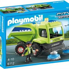 Masina De Curatat Strada Playmobil