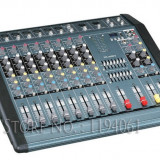 MIXER AUDIO PROFESIONAL AMPLIFICAT YAMAHA, 12 CANALE, 1300 WATT, MP3 PLAYER USB.NOU