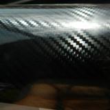 Negru 5D Folie Carbon Auto 5D 100 cm x 152 cm (0.5 m x 1.52 m) Air Bubble Free