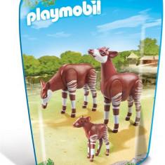 Familie De Okapi - Figurina Animale Playmobil