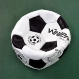 Minge de fotbal din piele  WINNER Fair Play