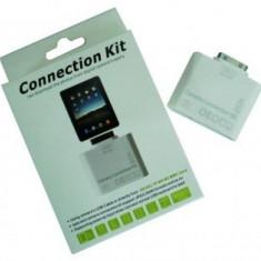 Kit conectare 5 in 1 camera foto si USB pentru iPad / iPad 2 / iPad 3 Apple