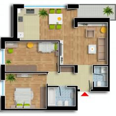 Apartament de vanzare, 3 camere, Etajul 7, An constructie: 2016, Suprafata: 103 - Apartament NOU, Cartier Prima Residence Oradea, 3 camere-ROMA, 63548Eur
