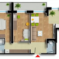 Apartament de vanzare, 3 camere, Etajul 7, An constructie: 2016, Suprafata: 94 - Apartament NOU, Cartier Prima Residence Oradea, 3 camere-BERLIN, 56405Eur