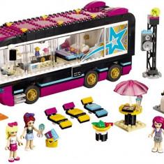 Autobuzul De Turneu Al Vedetei Pop - LEGO Friends