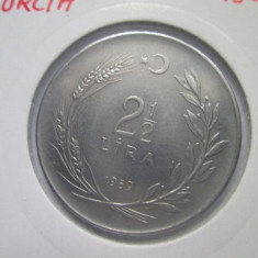 Turcia _ 2 1/2 lira _ 1969