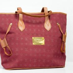 Geanta / Poseta de umar sau de mana Louis Vuitton LV + Cadou Surpriza - Geanta Dama Louis Vuitton, Culoare: Din imagine, Marime: Masura unica, Bumbac