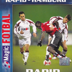 DVD fotbal RAPID BUCURESTI - SV HAMBURG Cupa UEFA 09.03.2006