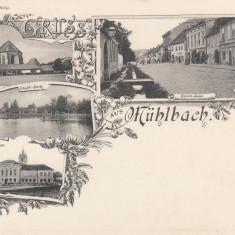SALUTARI DIN SEBESUL SASESC - Carte Postala Transilvania pana la 1904, Necirculata, Printata