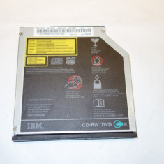 Unitate optica DVD ROM laptop IBM ThinkPad T60 Type:2007-53G ORIGINALA! - Unitate optica laptop