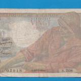 Franta 20 francs 1949 10 3 - bancnota europa