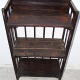 Mobilier - Etajera din lemn masiv; Dulap cu rafturi; Comoda