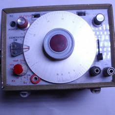 Aparat masura generator anii 60 vechi foarte rar unde radio semnal etc.