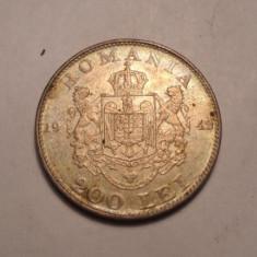 Moneda Romania - 200 lei 1942 Argint 3
