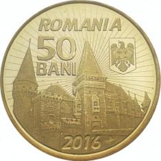 Monede Romania, An: 2016, Alama - 50 BANI 2016 IANCU DE HUNEDOARA UNC / 50 BANI 2016 COMUNA UNC DIN FISIC