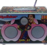 Boxa MP3 cu radio, USB, SD Card, Jack - Spider