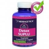 Detox Suplu 120 cps - Supliment nutritiv