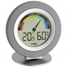 Higrometru cu termometru digital TFA Cosy
