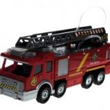 Masina de pompieri cu baterii - Arunca apa