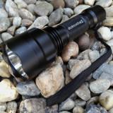 Lanterna Originala Dodocool CE by Trustfire C8 cu Led Cree XM-L2 SUA Pachet NOU