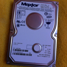 HDD PC - Hard disc Maxtor 160GB IDE ( 6L160P0 ) - un sector defect - Hard Disk Maxtor, 100-199 GB, 8 MB