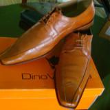 Pantofi piele naturala barbat - Pantofi barbati, Marime: 41-42, Culoare: Din imagine