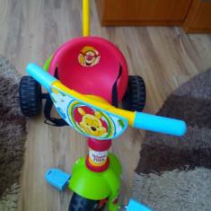 Tricicleta Be Fun Winnie the Pooh - Tricicleta copii Smoby