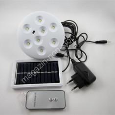 Bec LED Cu Panou Solar Cu Telecomanda Lampa Solara 5012S
