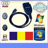 Tester diagnoza auto VAG.COM VCDS 15.7 in limba Romana, maghiara - Interfata diagnoza auto