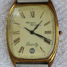 Ceas Alexandre Ducoudray, quartz, anii '60 deteriorat - Ceas unisex, Metal necunoscut