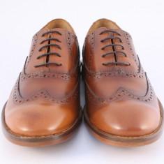 Candrani Oxford Peru Coniac Periat. Talpa TDM - Pantofi barbati