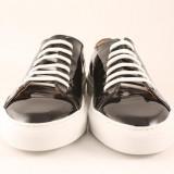 Candrani Gordon Sneakers Lac Negru