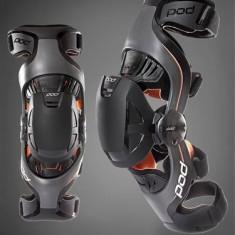 Orteze genunchi copii POD K1, gri/portocaliu - Protectii moto