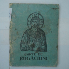 CARTE DE RUGACIUNI ( 4969 )