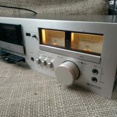 Sansui D-90 casetofon deck vintage, vu-metre pe ace, impecabil. - Deck audio
