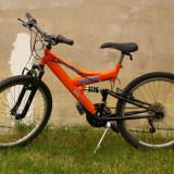 Vând Mountain Bike DHS Kreativ 2441 Legend, 16 inch, Numar viteze: 18