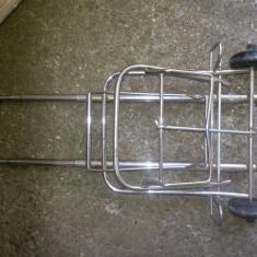 Carucior-troler, pliant, metalic, cu doua roti - Troller