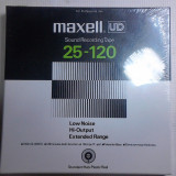 Banda profesionala magnetofon profesional sigilata noua Maxell originala japan - Benzi magnetice
