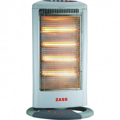 Radiator cu halogen Zass HS 04, 1600W, Alb