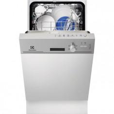 Masina de spalat vase partial incorporabila Electrolux ESI4200LOX, 9 Seturi, 5 Programe, Clasa A, 45 cm, Inox