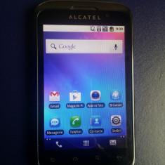 """Alcatel OT-991 Orange Ecran Mare 4"""" Camera 3Mpx Blitz Led Radio Android 2 Ginger"""