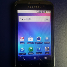 Alcatel OT-991 Orange Ecran Mare 4