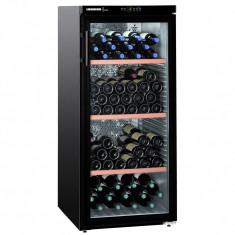 Vitrina de vinuri Liebherr WKb 3212, 164 sticle, Negru - Vitrina Frigorifica