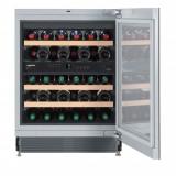 Vitrina de vin Liebherr UWT 1682, 34 sticle, Negru