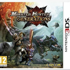 Monster Hunter Generations Nintendo 3Ds - Jocuri Nintendo 3DS