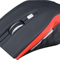 Mouse Modecom Wireless MC-WM5 Optic Negru cu Rosu