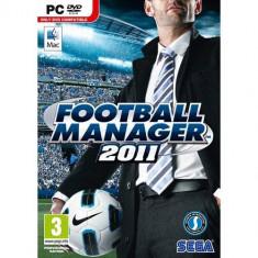 Joc PC Sega PC Football Manager 2011 SEG-PC-FM11 - Jocuri PC