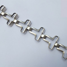 Bratara designer modernista argint 925 Italia
